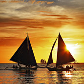 Boracay Sunset wallpaper