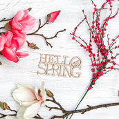 Hello spring wallpaper